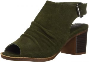 5edf8fcbaa Dirty Laundry by Chinese Laundry Women's Tena Ankle Boot, Olive Suede, 6 M  US