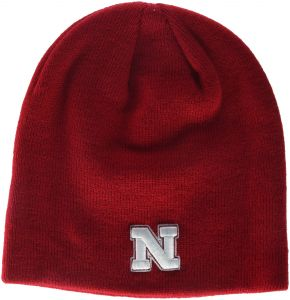 73c2cc9f1be Zephyr NCAA Nebraska Cornhuskers Adult Men Edge Knit Beanie