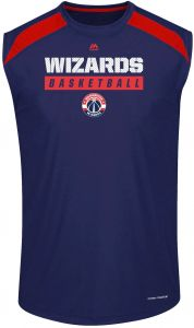 dae3971a8ce9 NBA Washington Wizards Men s Big   Tall Team Synthetic Pieced Muscle Tee