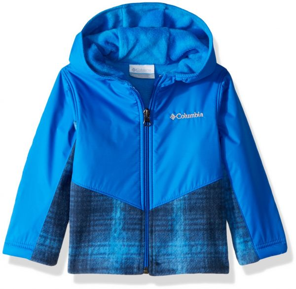 a83d16f50 Columbia Toddler Kids Steens Mt Overlay Hoodie, Super Blue Twill ...
