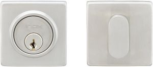 Polished Stainless Steel INOX LD320B6-32 Double Cylinder Deadbolt