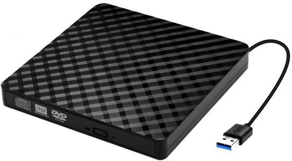 USB3.0 External Drive Burner CD DVD + - RW Optical drive Writer Portable with Notebook Desktop Superbook All-in-one Netbook