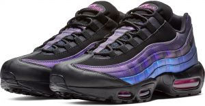 save off online retailer reliable quality Nike Runnung Shoes , Nike Air Max 95 Prm for Men , Black and Blue -  NK538416-021 (43 EU)
