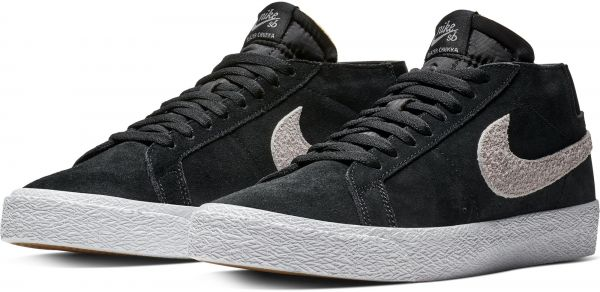 f437dbfc3a78 Nike Sb Zoom Blazer Chukka Sneaker For Men - Black