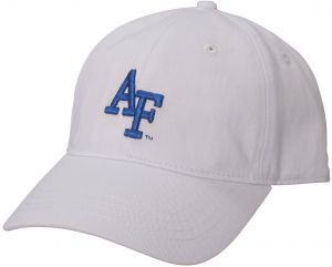 newest bcd5c 74286 Ouray Sportswear NCAA Air Force Falcons Small Fit Epic Cap, Adjustable  Size, White