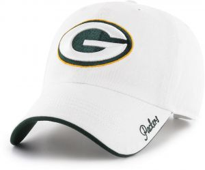 quite nice b3e2d 68b48 OTS NFL Green Bay Packers Female Accolade Challenger Adjustable Hat, White,  Women s