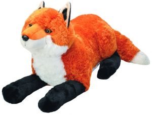 8c1856eee38b Wild Republic Jumbo Fox Plush, Giant Stuffed Animal, Plush Toy, Gifts For  Kids, 30