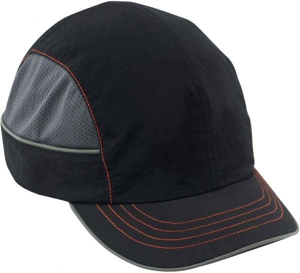 pretty nice a813c 3b26b Ergodyne Skullerz 8950XL Safety Bump Cap, Short Brim, Black