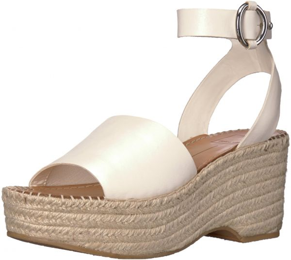 30bc523c69c Dolce Vita Women's Lesly Espadrille Wedge Sandal, Off White Leather ...