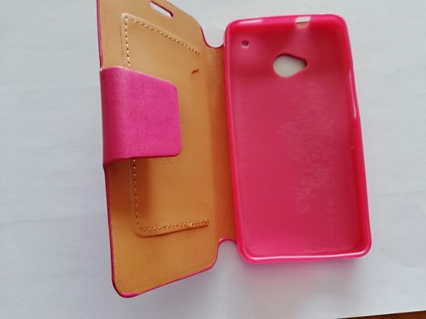low priced 7e6d1 fb377 FLIP COVER for HTC One M7