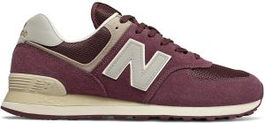 pluma Limpia el cuarto Bergantín  New Balance ML574VLB Suede Nylon Mesh-Accent Lace-Up Encap-Sole Contrast  Sports Sneakers for Men - Burgundy : Buy Online Athletic Shoes at Best  Prices in Egypt | Souq.com