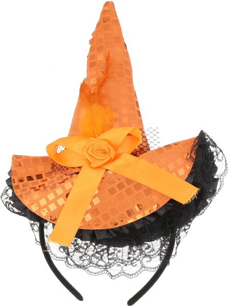 Witch Hat Headband for Girls - Multi Color