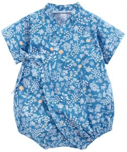 1800b6aa5 Newborn Clothing Breathable Kids Romper Short Sleeve V Neck Print Romper  Straps Floral Baby Pajamas Triangle Romper