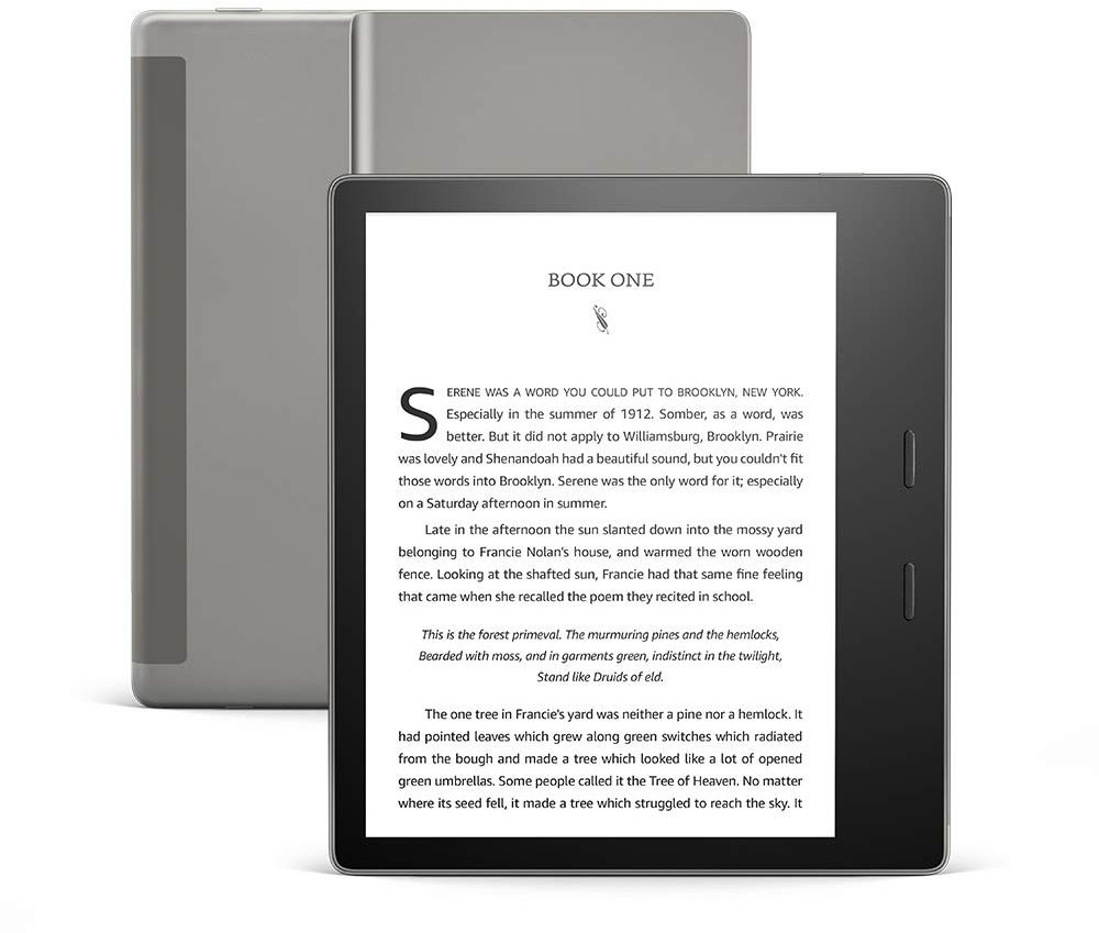 All-New Kindle Oasis (10th gen) - 7 Inch High-Resolution Display, Waterproof, 32 GB, Wi-Fi, Graphite