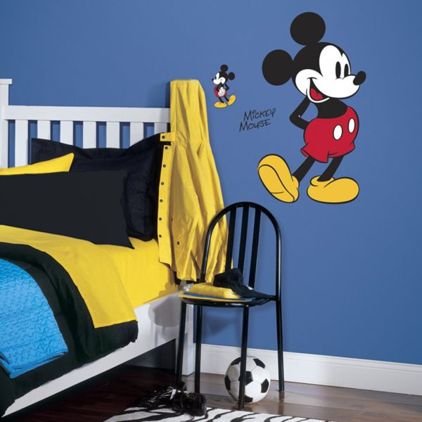 Roommates Rmk3259gm Mickey Mouse Peel And Stick Giant Wall Decals