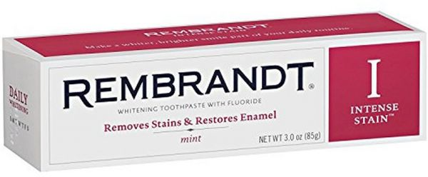 Rembrandt Intense Stain Removal Toothpaste 3. 0 Ounce of 2
