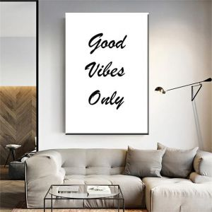 hd large positive quotes print on canvas from mk designs