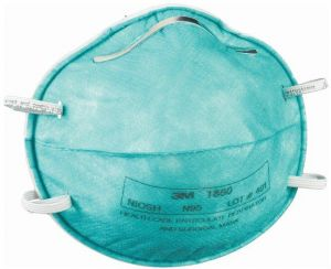 Mask 3m And Pcs Care Surgical Health 1860 Particulate 120 N95 Respirator