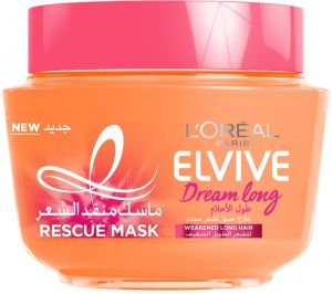 L Oreal Paris Elvive Dream Long Rescue Mask 300 Ml Buy Online Hair Care At Best Prices In Egypt Souq Com