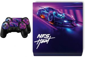 Ps4 Pro Need For Speed Heat Skin For Playstation 4 Buy Online