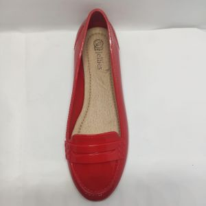 LUPO Candy Apple Red Loafers