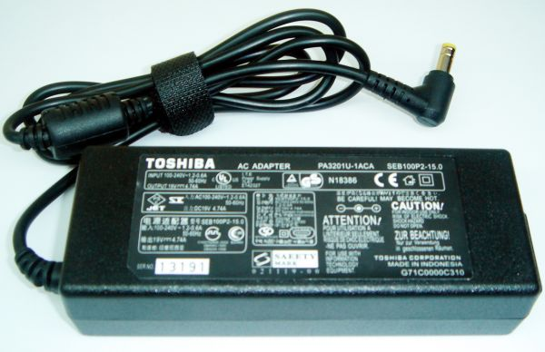 Toshiba Laptop Power Adapter Charger