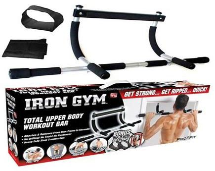 Get Toned And Strong Quick With Iron Gym The Total