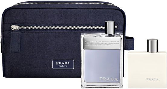 b4c9608a946b Prada Amber Pour Homme Gift Set of 100ML EDT, 100ML After Shave Balm ...