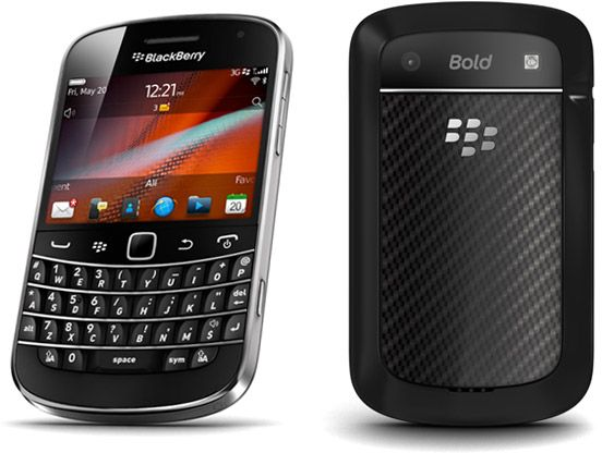 Blackberry Bold 9900 (8 GB, WiFi, Black)