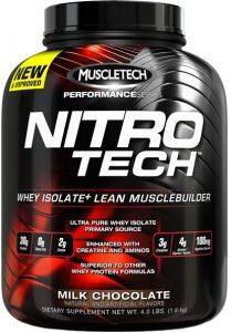 MUSCLETECH Nitro Tech Performance Series