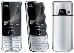 Nokia 6700 Classic (170MB, 3G, Silver)