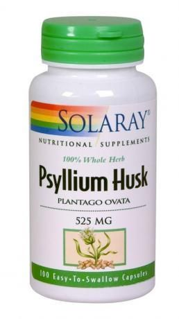 Solaray Psyllium Husk 525mg 100 Caps السعودية سوق