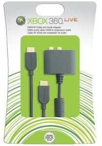 Microsoft - XBOX 360 HDMI AV Cable AND Audio Adapter